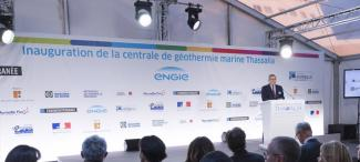 Thassalia: inauguration of France's first marine geothermal power station